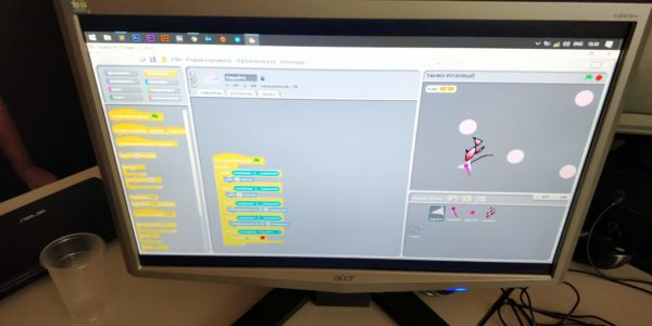 программирование для детей скреч