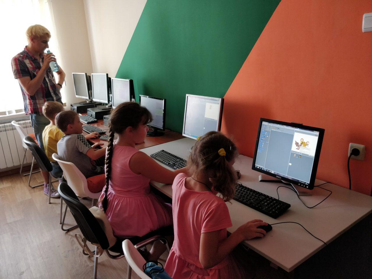 Дитячі курси програмування Scratch