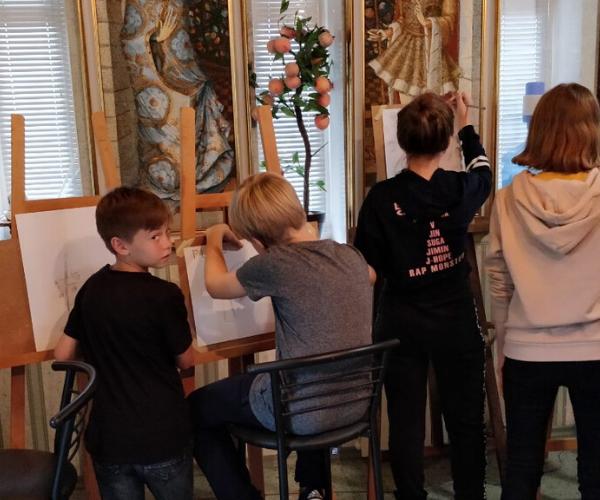 Дитячий літній денний табiр графічного мистецтва