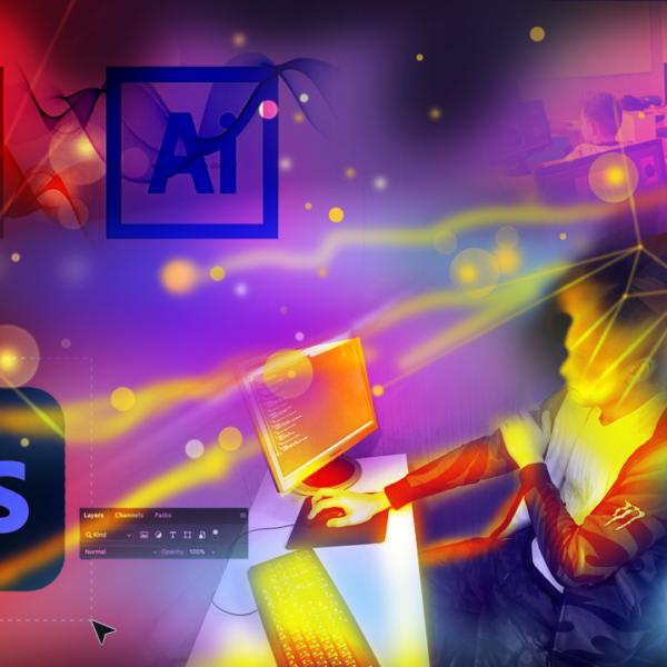 Веб-дизайн Adobe Photoshop